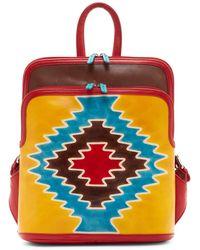 ILI - Santa Fe Leather Backpack - Lyst