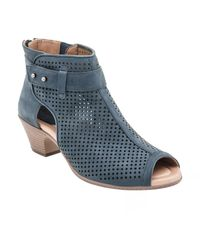 Earth - 'intrepid' Peep Toe Bootie (women) - Lyst