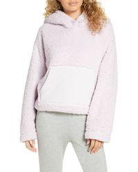 Zella Cassie Faux Fur Hoodie - Multicolor