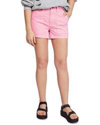 BDG Urban Outfitters Denim Skate Shorts - Pink