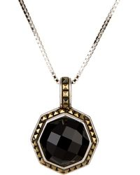 Judith Jack - Sterling Silver Agate Pendant Necklace - Lyst