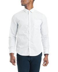 Good Man Brand - Slim Fit Compass Dot Sport Sport Shirt - Lyst