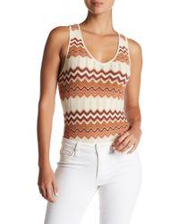 Ále By Alessandra - Thais Sleeveless Knit Bodysuit - Lyst