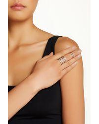 Saachi - Jasmine Adjustable Knuckle Ring Set - Lyst