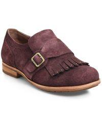 Kork-Ease Kork-ease Bailee Kiltie Monk Strap Shoe - Purple
