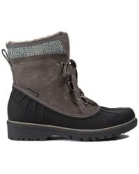 BareTraps Springer Faux Shearling Lined Waterproof Cold Weather Boot - Brown