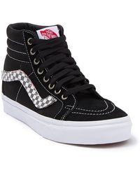 Vans Sk8 Hi Reissue Lace-up Sneaker - Black
