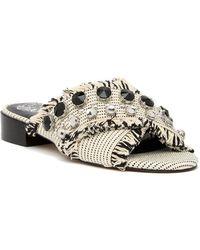 Vince Camuto - Noritta Embellished Slide Sandal - Lyst