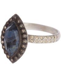 Armenta New World Marquis Ring - Multicolor