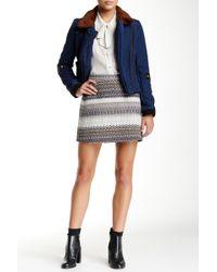 Waverly Grey - Stella Textured Skirt - Lyst