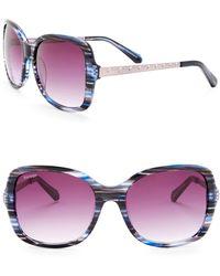 Balmain - 57mm Square Sunglasses - Lyst