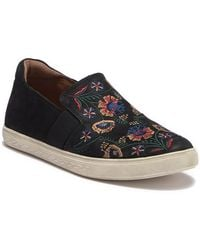 Rockport - Cobby Hill Willa Gore Suede Slip-on Sneaker - Lyst