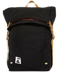 Poler Stuff - Roll Top Leather Trimmed Backpack - Lyst
