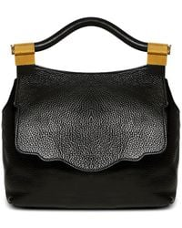 Thale Blanc - Pebbled Leather Audrey Backpack - Lyst