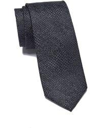 Ben Sherman Laurence Solid Silk Tie - Black