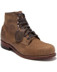 Wolverine 1000 Mile Leather Boot - Brown