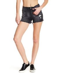 Articles Of Society | Stevie Distressed Short | Lyst