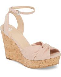 BP. Arya Platform Wedge Sandal (women) - Multicolor