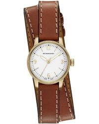 Burberry - Women's Double Wrap Band Watch - Lyst