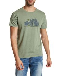 United By Blue - Geographic Camp Tee - Small - Lyst
