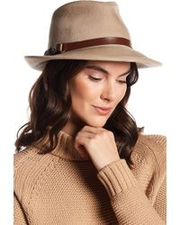 Eric Javits - Wool Classic Water Repellent Fedora - Lyst