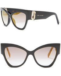 6933e115a610 Marc Jacobs Women's 56mm Round Sunglasses in Pink - Lyst