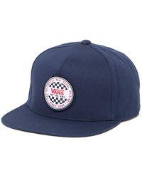 Vans Og Checker Patch Snapback Cap - Blue