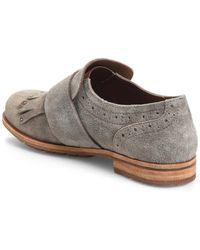 Kork-Ease Bailee Kiltie Monk Strap Shoe - Gray