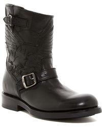 Frye - Folsom Tattoo Engineer Leather Boots - Lyst