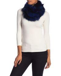 La Fiorentina - Genuine Fox Fur Infinity Scarf - Lyst
