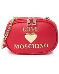 Love Moschino Borsa Rosso Crossbody - Red