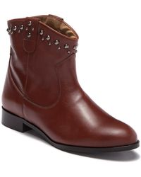 d57856c954c Patricia Green - Calista Leather Stud Bootie - Lyst
