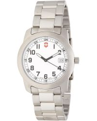Victorinox | Men's Field Bracelet Watch, 38mm | Lyst