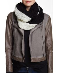 Wooden Ships - Ryley Colorblock Black Eternity Scarf - Lyst