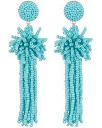 BaubleBar - Rishita Beaded Tassel Drop Earrings - Lyst