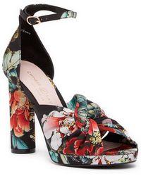 Chinese Laundry - Flory Geisha Printed Platform Sandal - Lyst