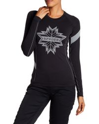 Spyder - Crest Raglan Sleeve Shirt - Lyst