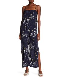 Lucca Couture - Finley High Slits Jumpsuit - Lyst