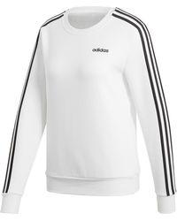adidas Essentials 3-stripes Sweatshirt - White