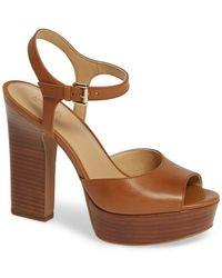 68645c67185d MICHAEL Michael Kors - Bennett Platform Sandal (women) - Lyst