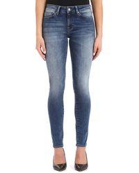 Mavi Adriana Skinny Jeans - Blue