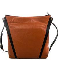 Zenith - Two-tone Crossbody Bag - Lyst