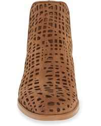 Ron White Pryce Perforated Bootie - Brown