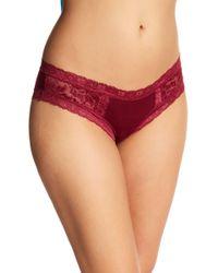 Pj Salvage Lily Leisure Hipster Underwear - Red