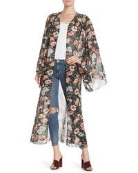 Tularosa - Prima Floral Print Kimono - Lyst