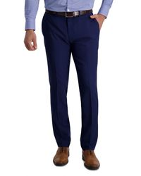 Louis Raphael - Slim Fit Stretch Striated Solid Pants - Lyst