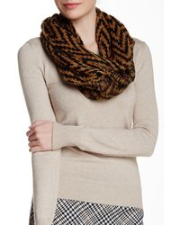 Wooden Ships - Zig Zag Black Soft Cocoa Eternity Scarf - Lyst
