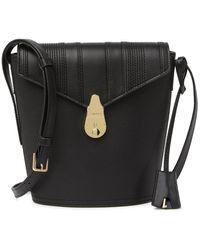 Calvin Klein Lock Bucket Bag - Black