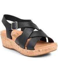 Kork-Ease Kork-ease Caroleigh Wedge Sandal - Black