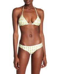 Bermies - Pineapple Sensation Cheeky Bikini Set - Lyst